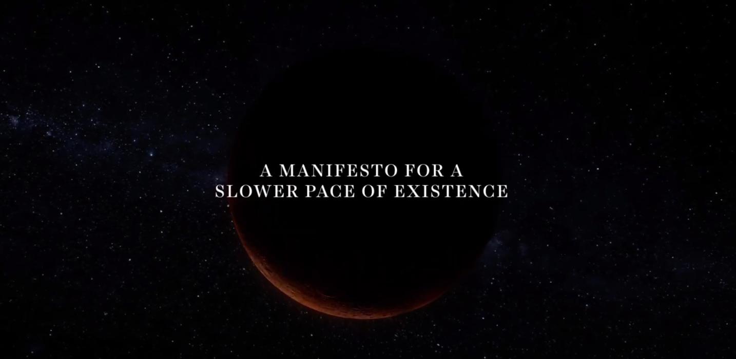 Ein Manifest der Langsamkeit